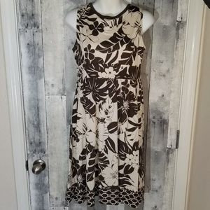 Tommy Bahama silk tropical print dress small 4/6